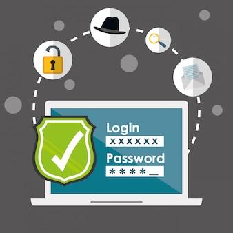 デジタル詐欺とハッキングデザイン