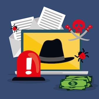 Digital fraud and hacking design