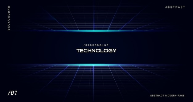 Digital futuristic technology space background