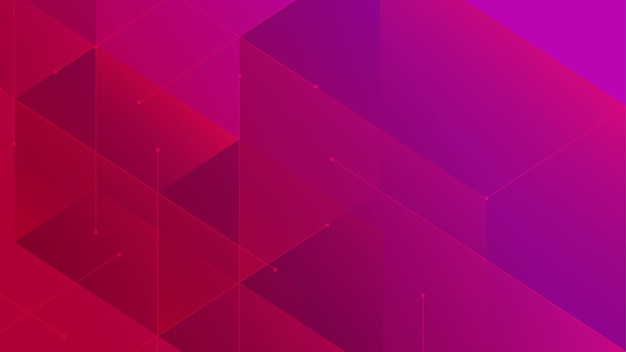 Цифровые геометрические блоки соединение абстрактный узор фона