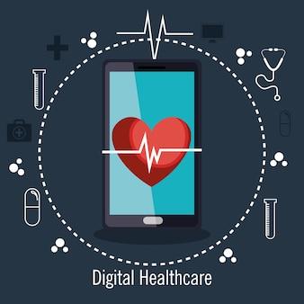 Digital healthcare cardio app