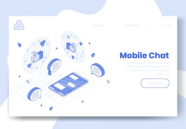 Digital isometric design concept set