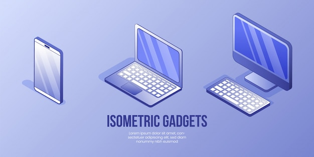Digital isometric design concept