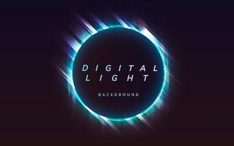 Digital light background