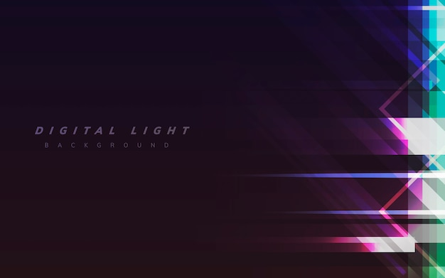 Digital light background
