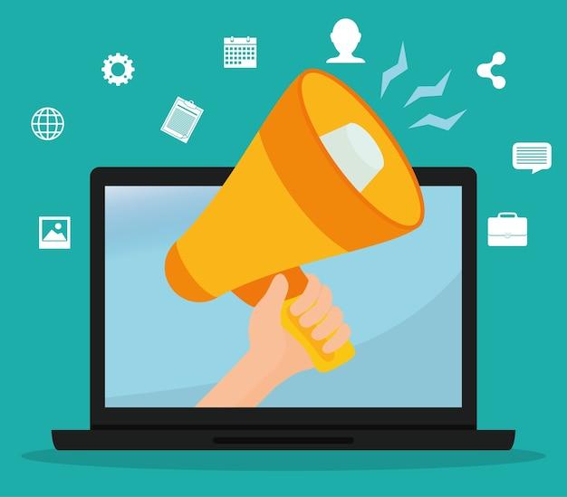 Digital marketing and advertising graphic design