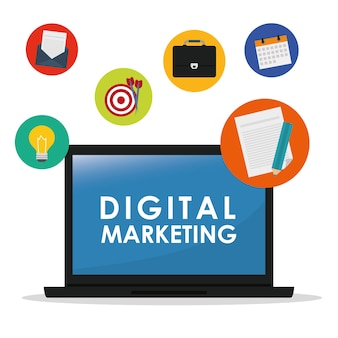 Digital marketing and advertising graphic design