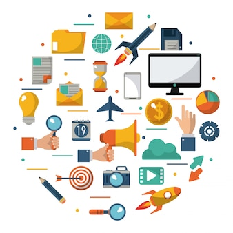 Digital marketing advertising optimize global business