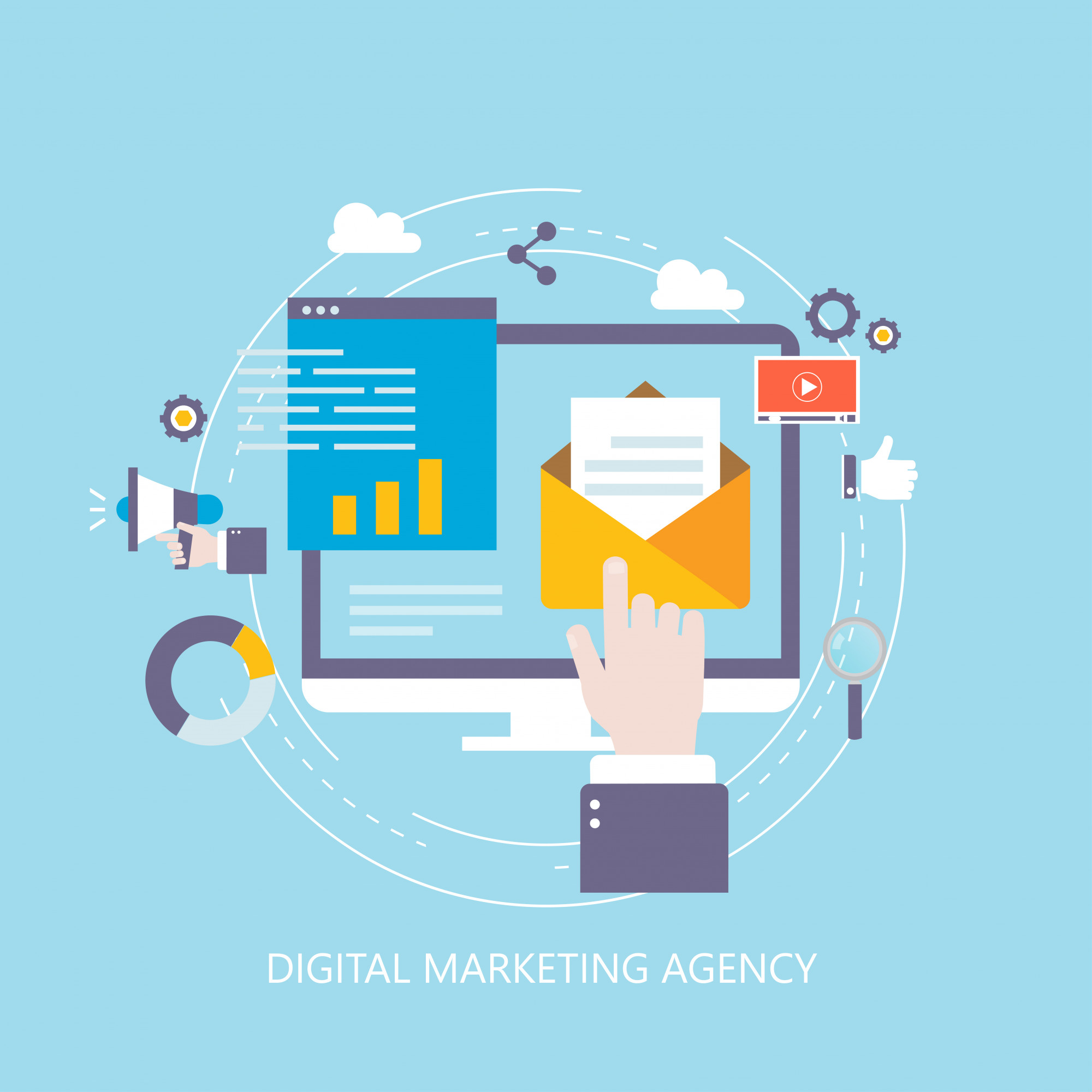 Digital marketing agency and online promotion