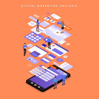 Digital marketing analysis