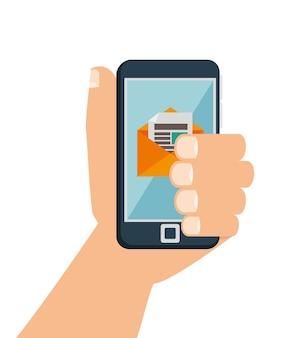 Digital marketing e-commerce icon vector illustration design