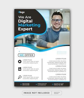 Digital marketing expert promotion banner post template