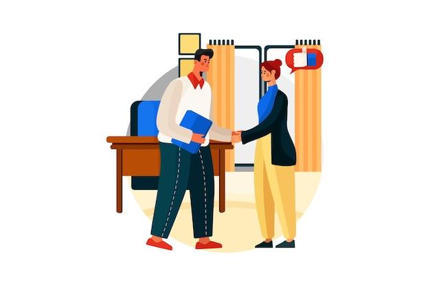 Концепция цифрового маркетинга иллюстрации
