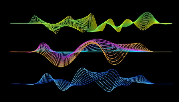 Digital music player waveform