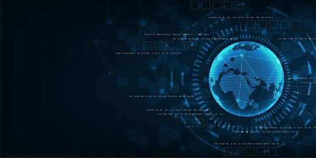 Цифровая сеть мира.