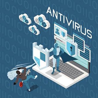 デジタルプライバシー個人データ保護等角構成