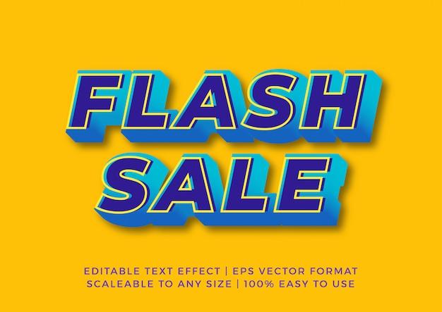 Digital promotion modern flash text effect