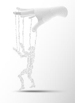 Digital puppet