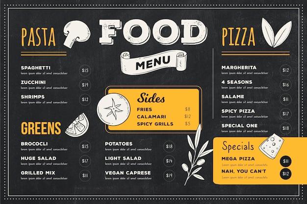 Цифровое меню ресторана