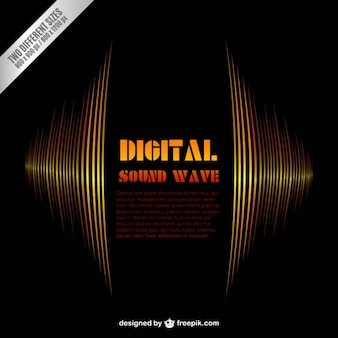 Digital sound wave