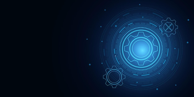 Цифровые технологии и инженерия, концепция цифровых телекоммуникаций