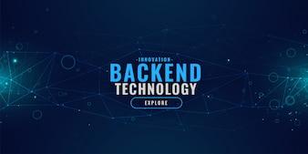 輝くラインメッシュとデジタル技術の背景
