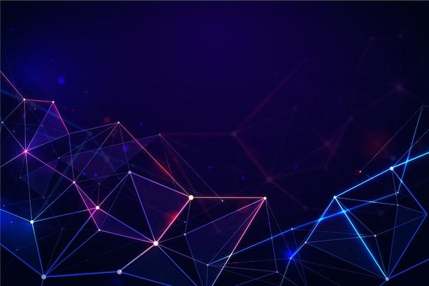 디지털 기술 개념 배경