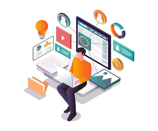 Цифровая трансформация социальных сетей и маркетинга