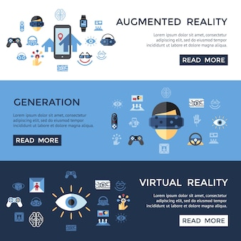 Digital vector virtual augmented reality set collection, next generation gaming