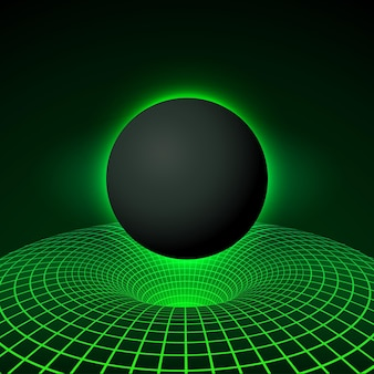 Цифровая визуализация black hole
