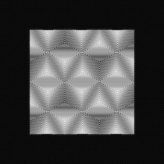 科学技術の概念の暗い背景のデジタル視覚化。