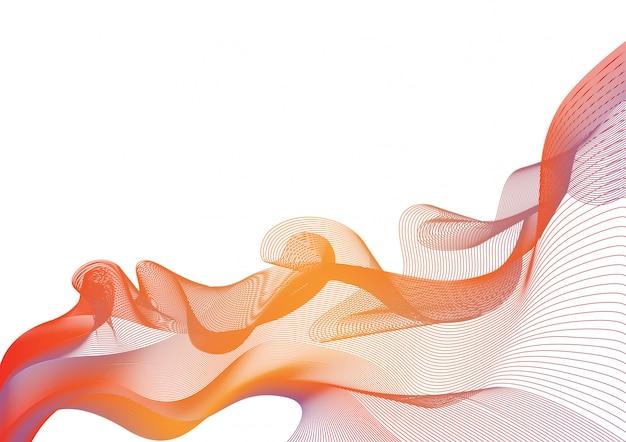 Dinamic lines wave.