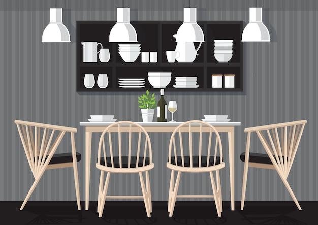 Dinner room design