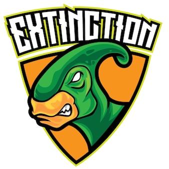 Логотип dino extinct esport
