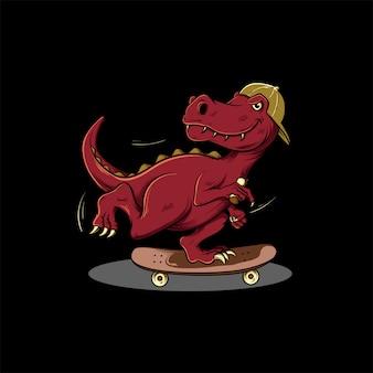 Dino skate
