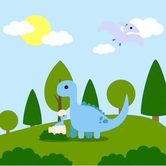 공룡 모험 그림
