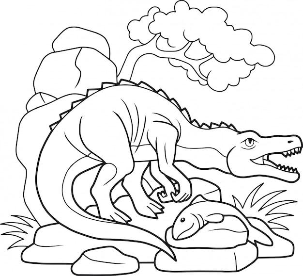 Dinosaur baryonyx