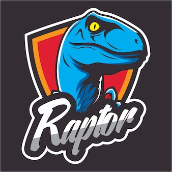 Dinosaur design badge