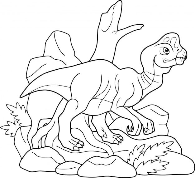 Dinosaur oviraptor