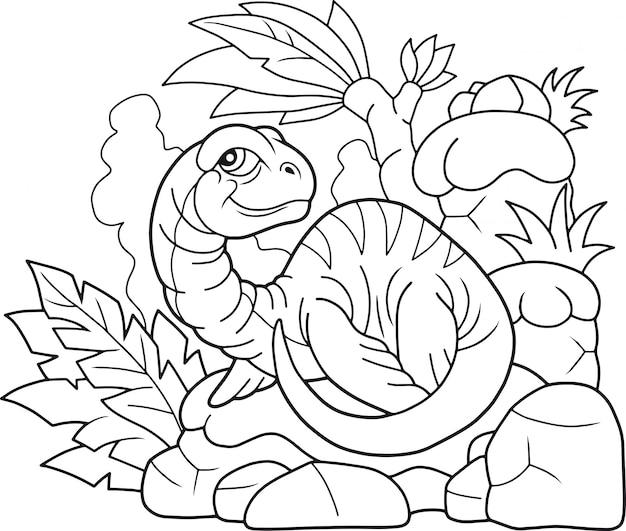 恐竜プレシオサウルス