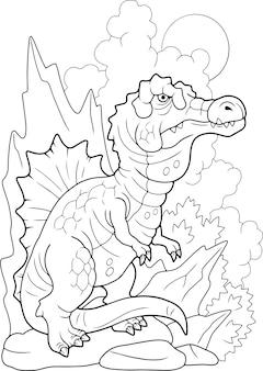 恐竜スピノサウルス