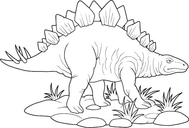 恐竜ステゴサウルス