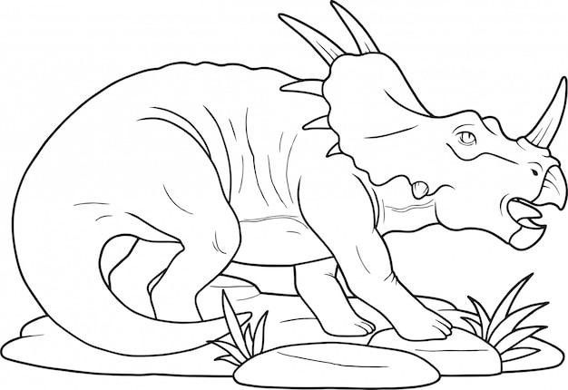 恐竜スティラコサウルス