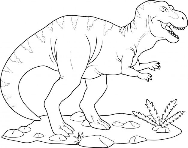 恐竜ティラノサウルス