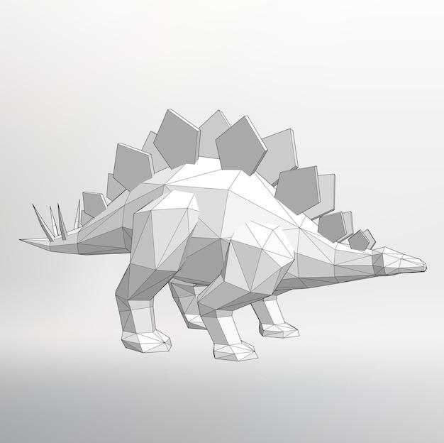 恐竜ベクトルイラストポリゴンtriangle抽象的なベクトルの背景