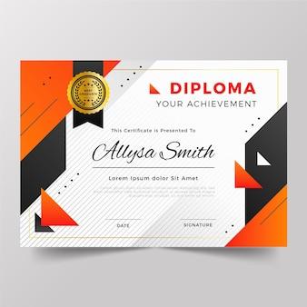 Концепция шаблона диплома