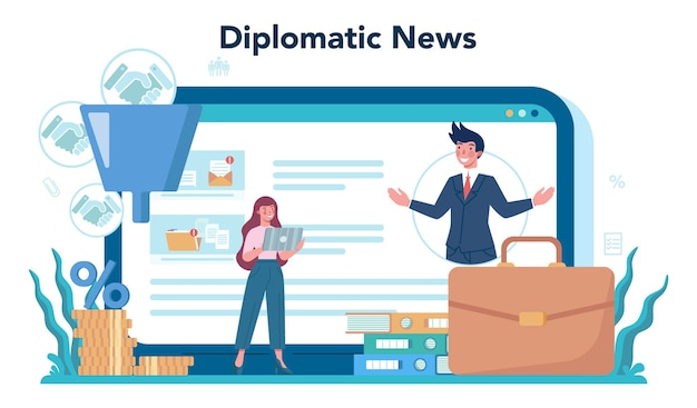 Онлайн-сервис или платформа diplomat