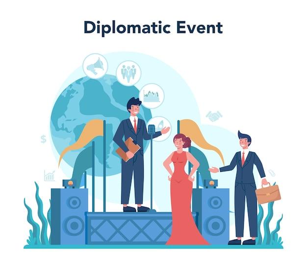 外交官の職業