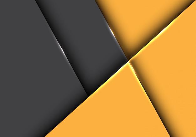 Желтые тона стрелка геометрические directiondark серый фон.