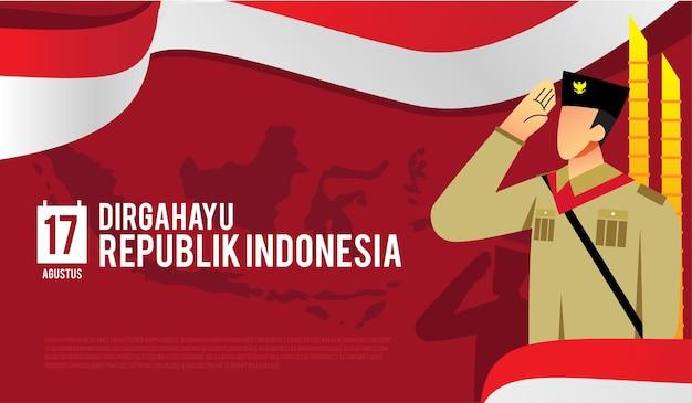 Dirgahayurepublikインドネシアcs10